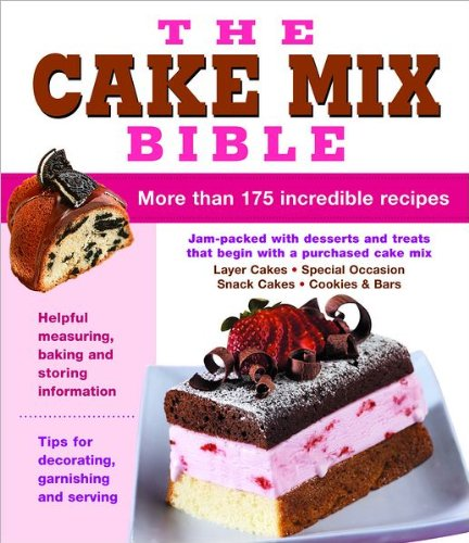 cake mix bible - 2