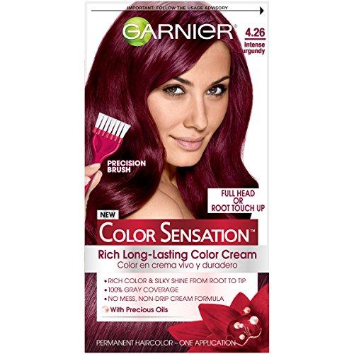 Garnier Hair Color Sensation Rich Long-Lasting Color Cream,