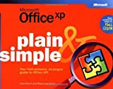 img - for Microsoft  Office XP Plain & Simple (How to Do Everything) 1st edition by Brown, Carol, Resources Online (2001) Paperback book / textbook / text book