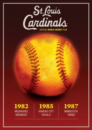 MLB Vintage World Series Films - St. Louis Cardinals 1982, 1985 & 1987 by A&E