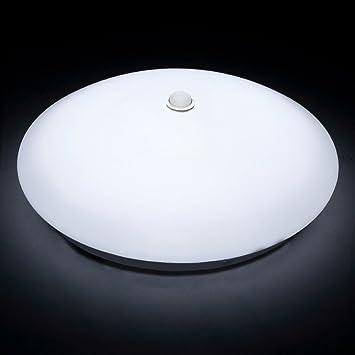 Afsemos motion sensor led flush mount ceiling light 12w 10 inch afsemos motion sensor led flush mount ceiling light 12w 10 inch body sensor auto aloadofball Images
