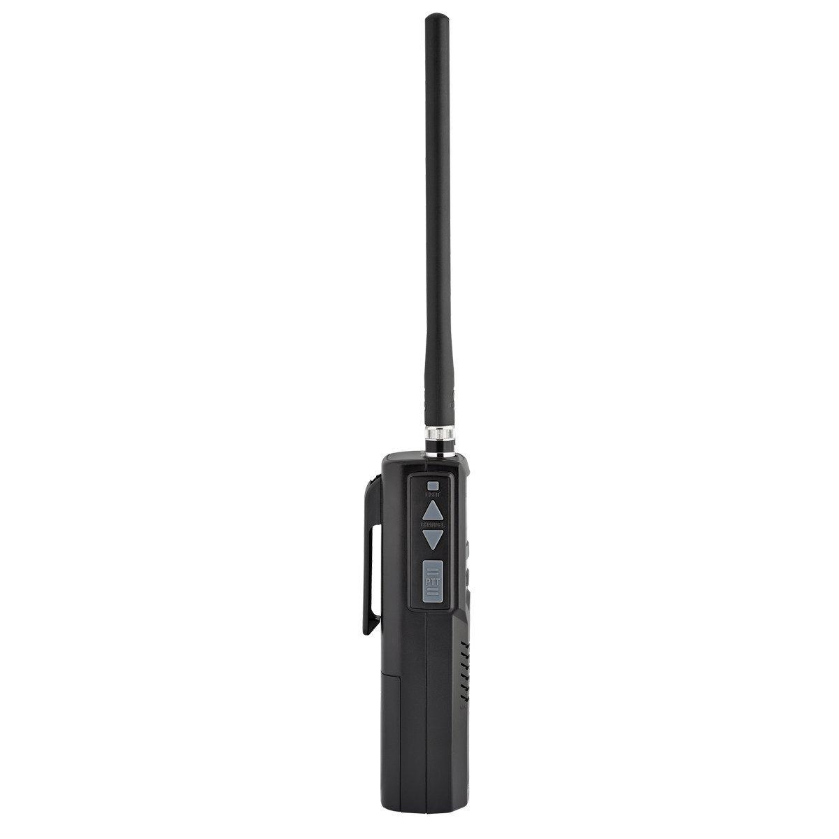 Cobra Electronics HH50WXST Citizens Band 2-Way Handheld CB Radio, Black