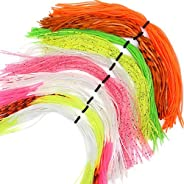 Silicone Skirts Rubber Skirts Threads 10 Colors for Fly Tying Material Make Rubber Jig Skirts Spinnerbati Lure