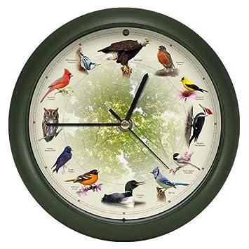 8 Inch Mark Feldstein Limited Edition 20th Anniversary Singing Bird Clock