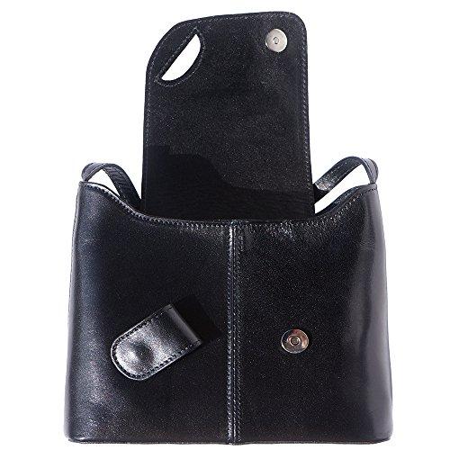 Market BANDOULIÈRE SAC FERMOIR Leather RABAT Florence AVEC EN VERNI ET MAGNÉTIQUE À Noir CUIR 209 5wxRqU