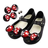 TANDEFLY Baby Girls Mary Jane Flat Jelly Shoes