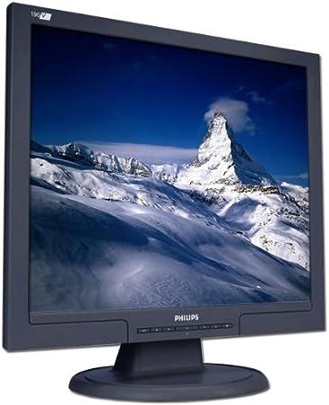 Philips 190v7 19 1280 X 1024 300 Cd M 8ms Vga Dvi Schwarz Tco03