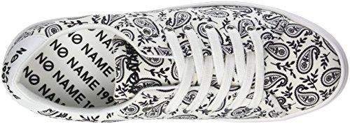 Sneaker Plato Donna 01 Bandana White NONAME Bianco EwB8gqq
