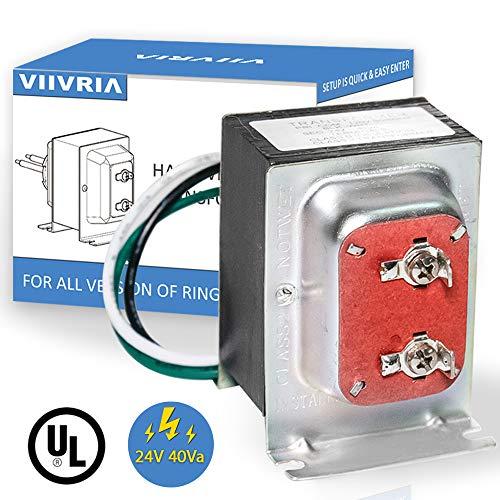 Thermostat / Doorbell Transformer, 24V 40VA Power Supply Compatible...