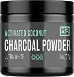 Beauty : Premium Teeth Whitening Charcoal Powder - All Natural Coconut Activated Charcoal and Bentonite Clay - Highest Quality & 2X Value - Whitening Toothpaste