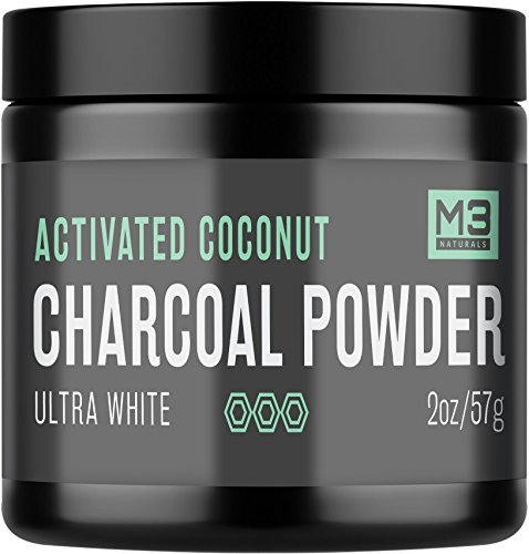 Premium Teeth Whitening Charcoal Powder - All Natural Coconut