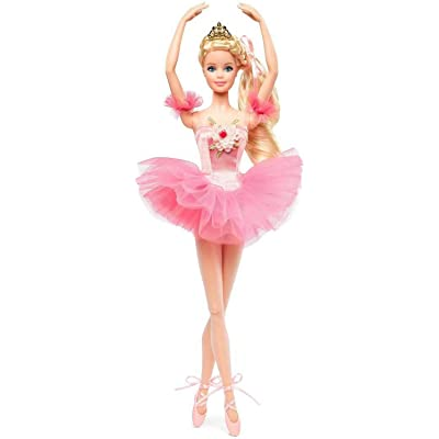 Barbie Ballet Wishes Fashion Doll: Toys & Games