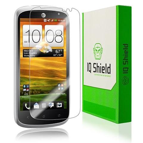 HTC One VX Screen Protector, IQ Shield LiQuidSkin Full Coverage Screen Protector for HTC One VX HD Clear Anti-Bubble Film - (Screen Protector Htc One Vx)