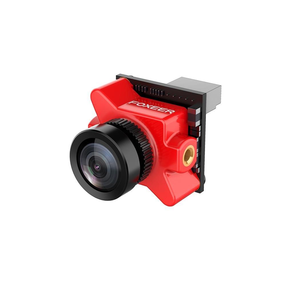 Foxeer Predator Micro V2 Camera FPV OSD 1000TVL Super WDR with OSD, Red, 1 piece