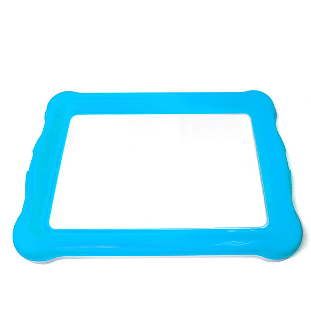 bluee 48.540.5cm bluee 48.540.5cm YZJJ Dog Toilet, Pet Supplies Grid Dog Potty, Puppy Cat Pet Training Mat Potty, Easy To Clean And Hygienic,Sterile,Tasteless And Corrosion Resistant,color Optional