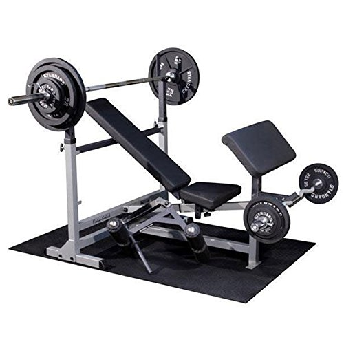 Body-Solid GDIB46LP Olympic Bench Package, Includes GDIB46L, GPCA1, and GLRA81