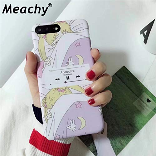 Amazon.com: Sailor Moon Phone Case For iphone 7 Plus X 6 6S ...
