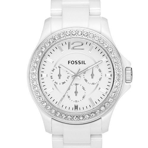 Reloj fossil blanco para dama precio