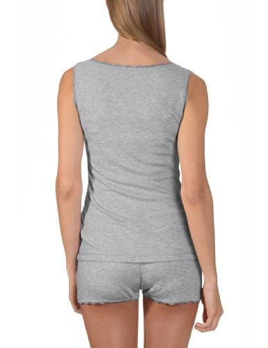 Bellybutton B11811 - Camiseta sin mangas para mujer Gris melange 70501