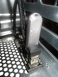 NZXT IU01 Internal USB Expansion (Black)