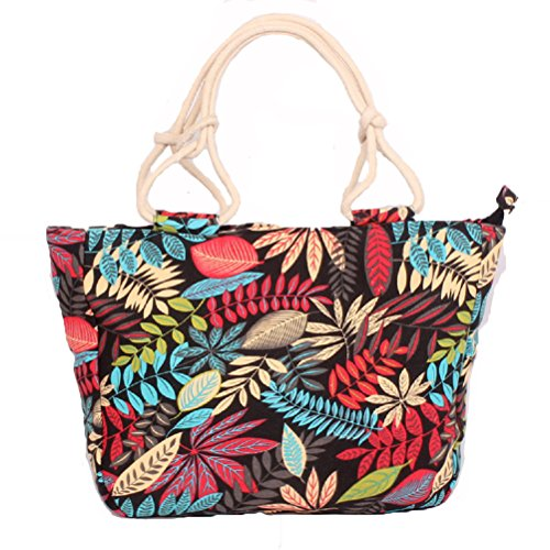 para Black Leaf Samanthajane playa de ClothingTM Bolso mujer wp7AI