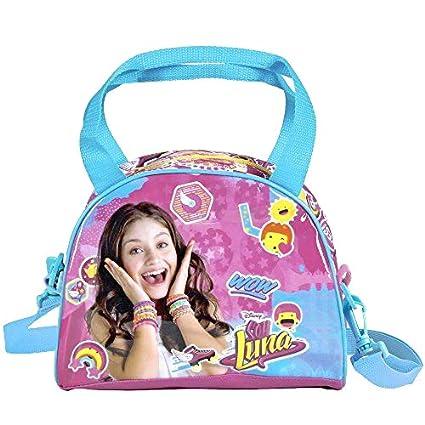 Perletti - Bolso de niña Soy Luna con bandolera - Princesas Disney - 17 x 22