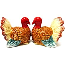 Turkey Magnetic Ceramic Salt & Pepper Shakers by Attractives
