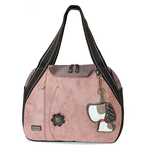 Chala Toffy Dog Bowling Bag, Dusty Rose (Pink Ladies Bowling Bag)