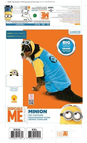 Picture of Rubie's Big Dog Minion Dog Costume