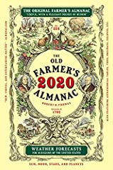 """It's another new year celebrating everything under the Sun, including the Moon, with The Old Farmer's Almanac, America's oldest continuously published periodical! Always timely, topical, and distinctively """"useful, with a pleasant degre..."""