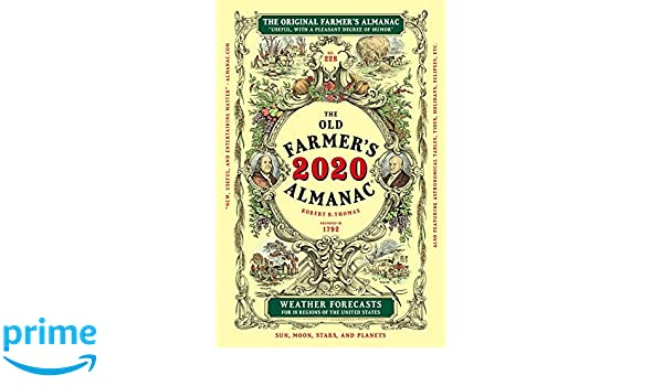 The Old Farmer's Almanac 2020: Old Farmer's Almanac