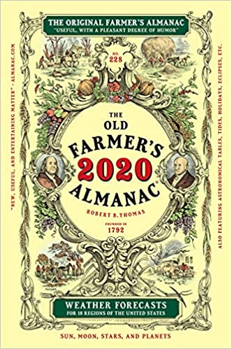 Farmer\\\'S Almanac 2020 Best Days The Old Farmer's Almanac 2020: Old Farmer's Almanac: 9781571988102