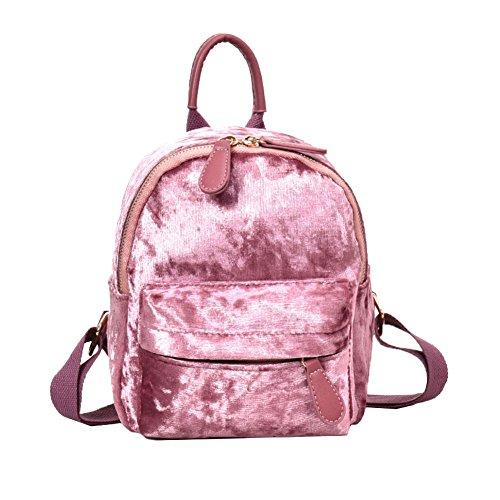 Kalaokei - Bolso mochila para mujer Negro Negro Large Rosa