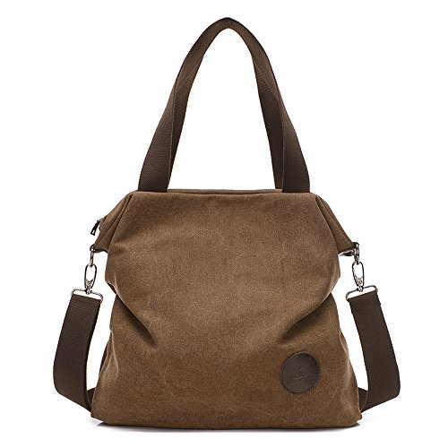 Shoulder Bag Crossbody bag Mid Size Handbag Canvas Tote Bag For Women Girls Casual Travel Messenger Bag