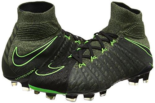 Green Electric FG Phantom Negro sq Zapatillas plm Black 3 Hypervenom Hombre Nike de TC Green fútbol q71wPxI