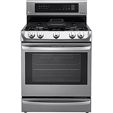 LG LRG4115ST 30 Stainless Steel Gas Range Convection