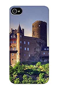 Dionnecortez Protection Case For Iphone 4/4s / Case Cover For Christmas Day Gift(burg Katz)
