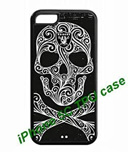 iPhone accessories Skeleton Style iPhone 5C back TPU Cases Oakland Raiders logo label by hiphonecases