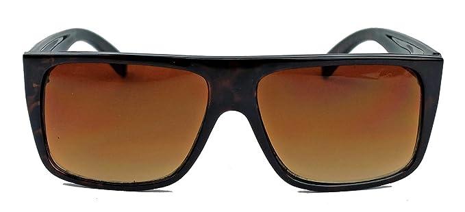 schnelle Farbe strukturelle Behinderungen neue hohe Qualität Herren Sonnenbrille Flat Top Rahmen 80er Jahre Old School ...