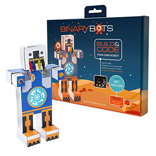 image Module DIMM de Binary Boots - Smart Toy Robot - DIMM est un robot qui a sélectionné des accessoires auxiliaires pour le code et remplacé BBC Microbit