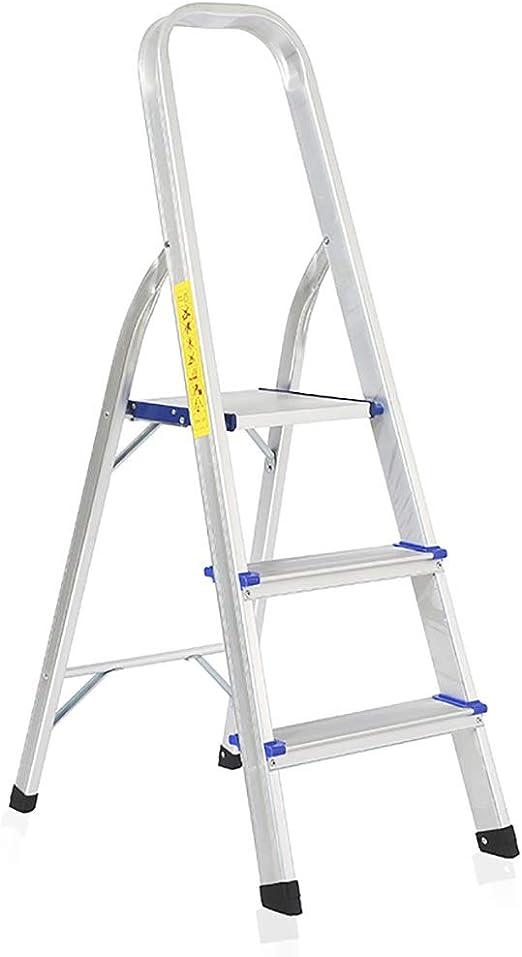 Escaleras Escalera plegable de aluminio de 3/4 pasos for el hogar ...