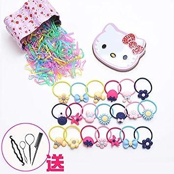 Corbata de goma para niñas con adorno de pelo para niñas y niñas ...