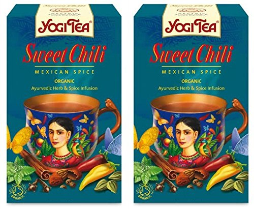 Amazon Com Yogi Tea Choco Chilli Aztec Spice 37 4g