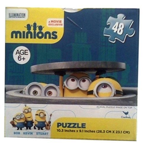 Minions Exclusive Buddies Puzzle Featuring