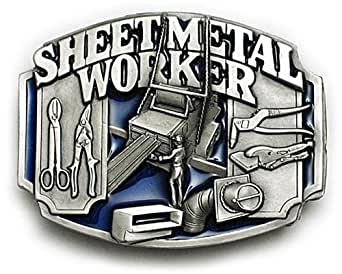 Amazon Com Sheet Metal Worker Belt Buckle Fabrication