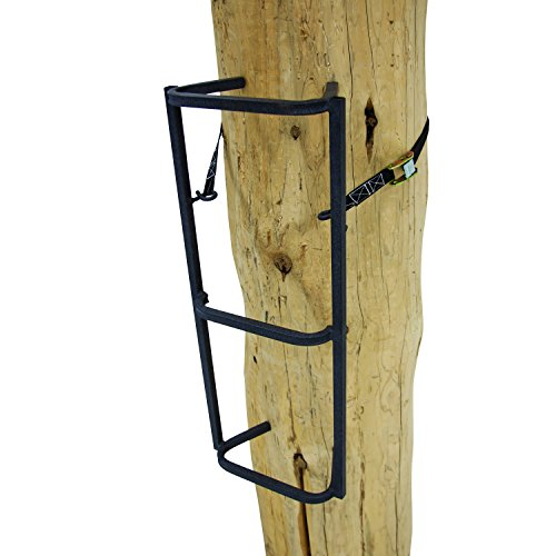 "Rivers Edge RE727, Big Foot Grip Rail, Tree Stand Climbing System, 32"" Section, Ladder-Style Design, Permanent Non-Slip Coating"