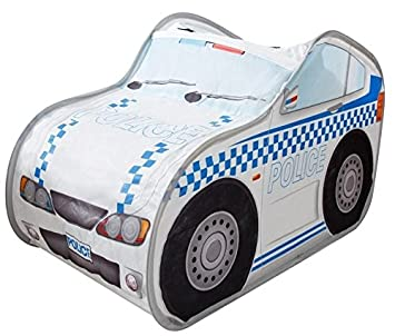 Kids Play Tent Make Believe Car Play Tent Police Car Mini Driver Play-house Indoor  sc 1 st  Amazon.com & Amazon.com: Kids Play Tent Make Believe Car Play Tent Police Car ...