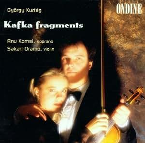 Kurtag:  Kafka Fragments, Part