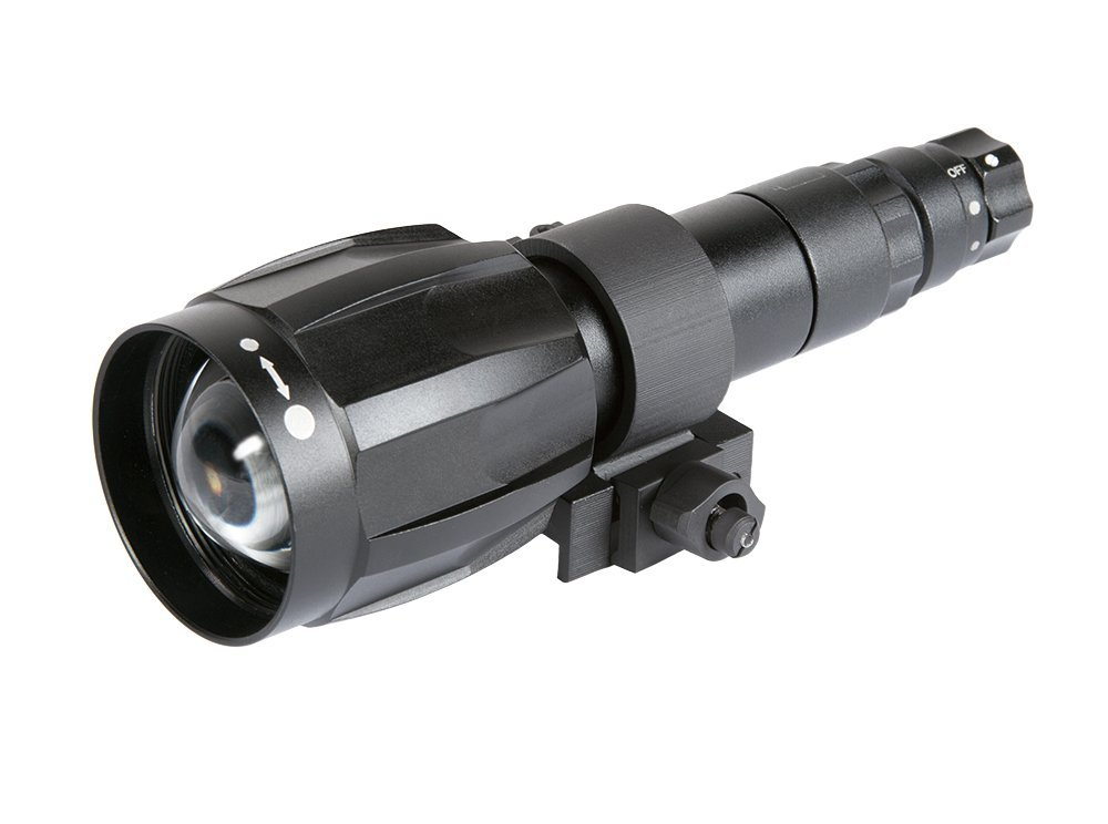 Armasight XLR-IR850 Detachable X-Long Range Infrared Illuminator w/Dovetail to Weaver Transfer Piece #21, Rechargeable Battery, and Charger by Armasight