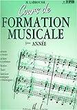 Cours de formation musicale - 3 ème année